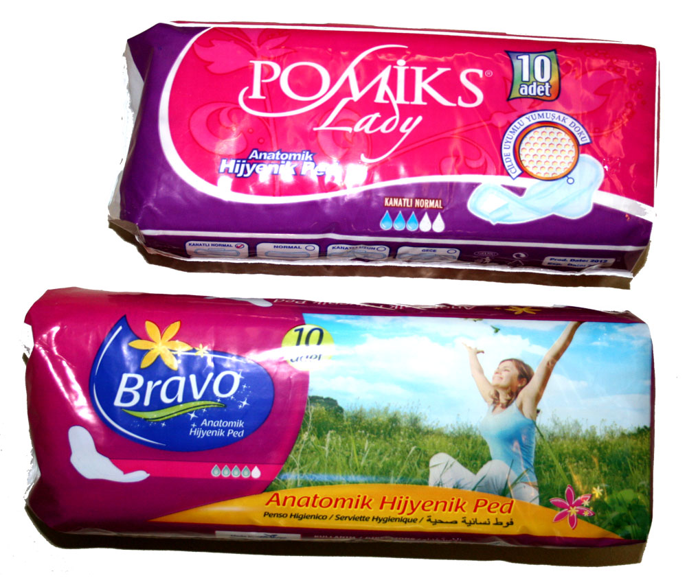 Sanitary Napkins - Bravo and pomiks