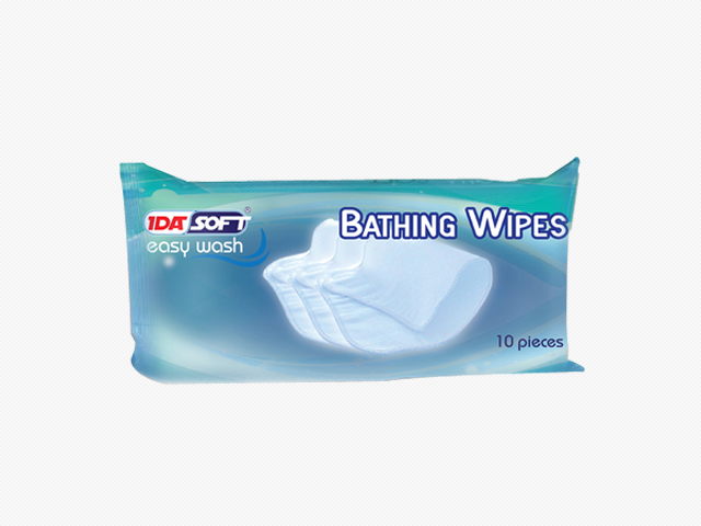 bathing wipes